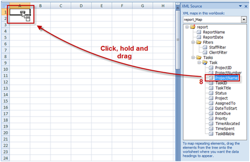 Import CSV & XML files into Excel | The ProWorkflow Blog