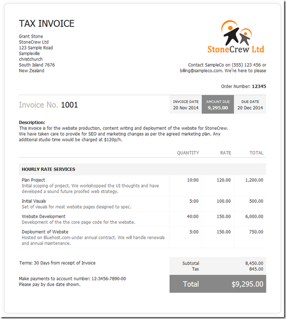 New Invoice Layout Teaser The ProWorkflow Blog - Invoice style