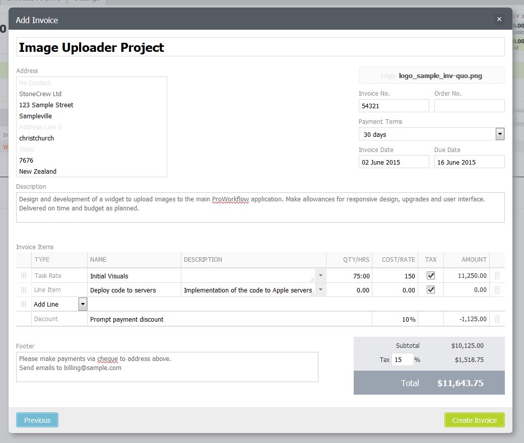 new invoices and quotes plugins the proworkflow blog