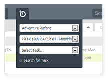 Time tracker - Project time tracking