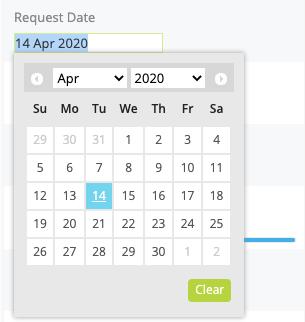 Custom Fields - Date